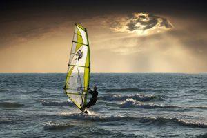 Windsurfen Bergen aan Zee