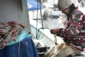 visser Egmond aan Zee