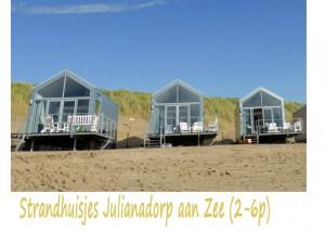 Strandhuisjes Julianadorp aan Zee 2-6p