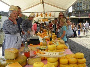 De wereldberoemde kaasmarkt van Alkmaar