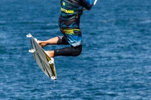 Kitesurfe op het Almaardermeer