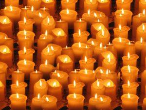 kaarsenmaken door de monikken van egmond